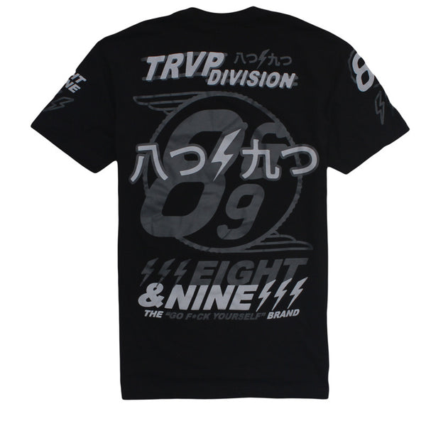 Trap Division Jersey Tee Black Chrome - 3