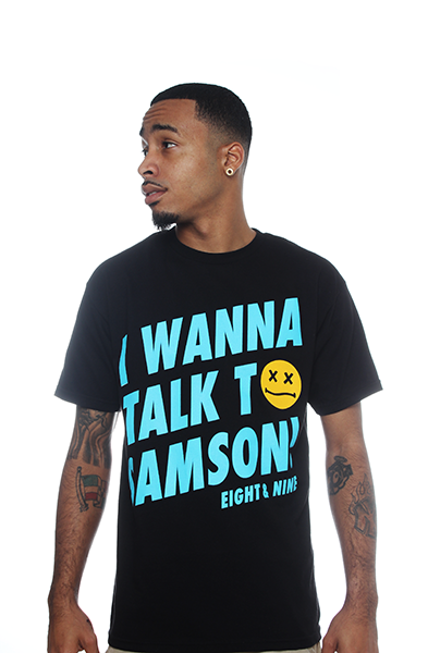 Smoke-A-Lot Gamma Blue 11 Shirt - 1