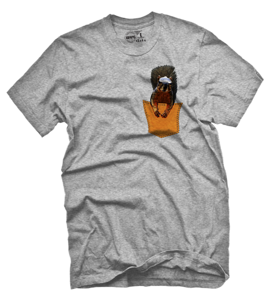 Squirrel Master Half Baked Pocket T Shirt - 2