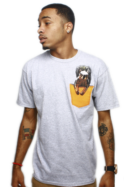 Squirrel Master Half Baked Pocket T Shirt - 1