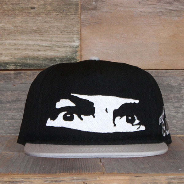 All Eyez On Me Unstructured Baseball Hat Black - 1