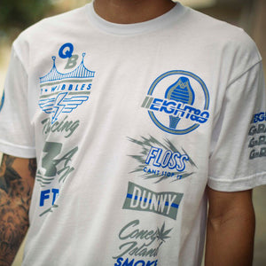 G Pack SS Jersey Tee White