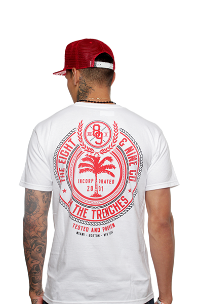 Trenches Fire Red T Shirt - 1
