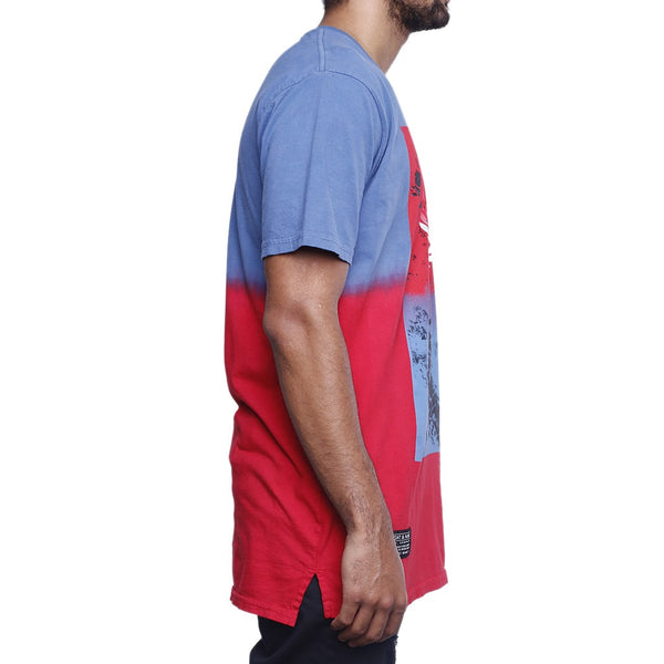 true blue smoked long line t shirt (2)