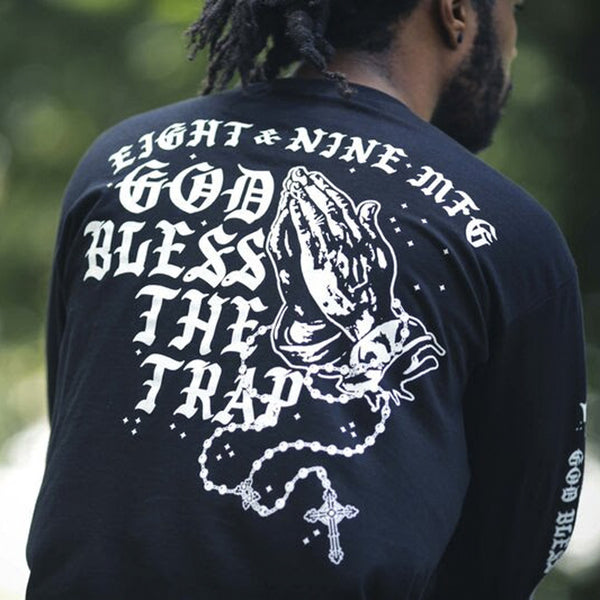 Blessed L/S T Shirt Black