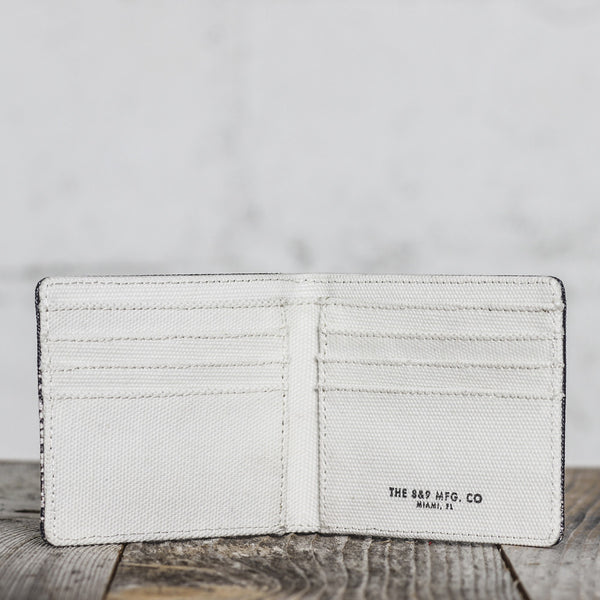 Blow Heavy Canvas Wallet