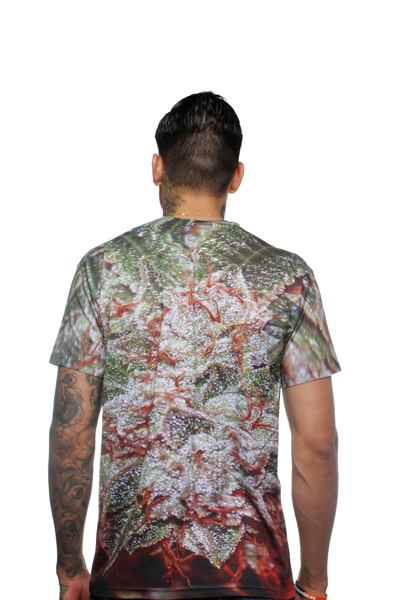 Designer Bud Crystal Greens Sublimated T Shirt - 2
