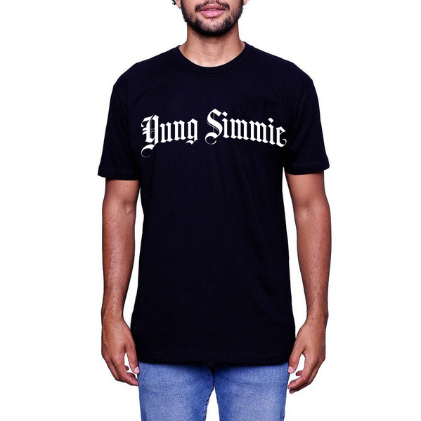 "Yung Simmie ""Old English"" Tee Black"