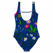 Batoko Floral Print Swimming Costume | Recycled Plastic UK
