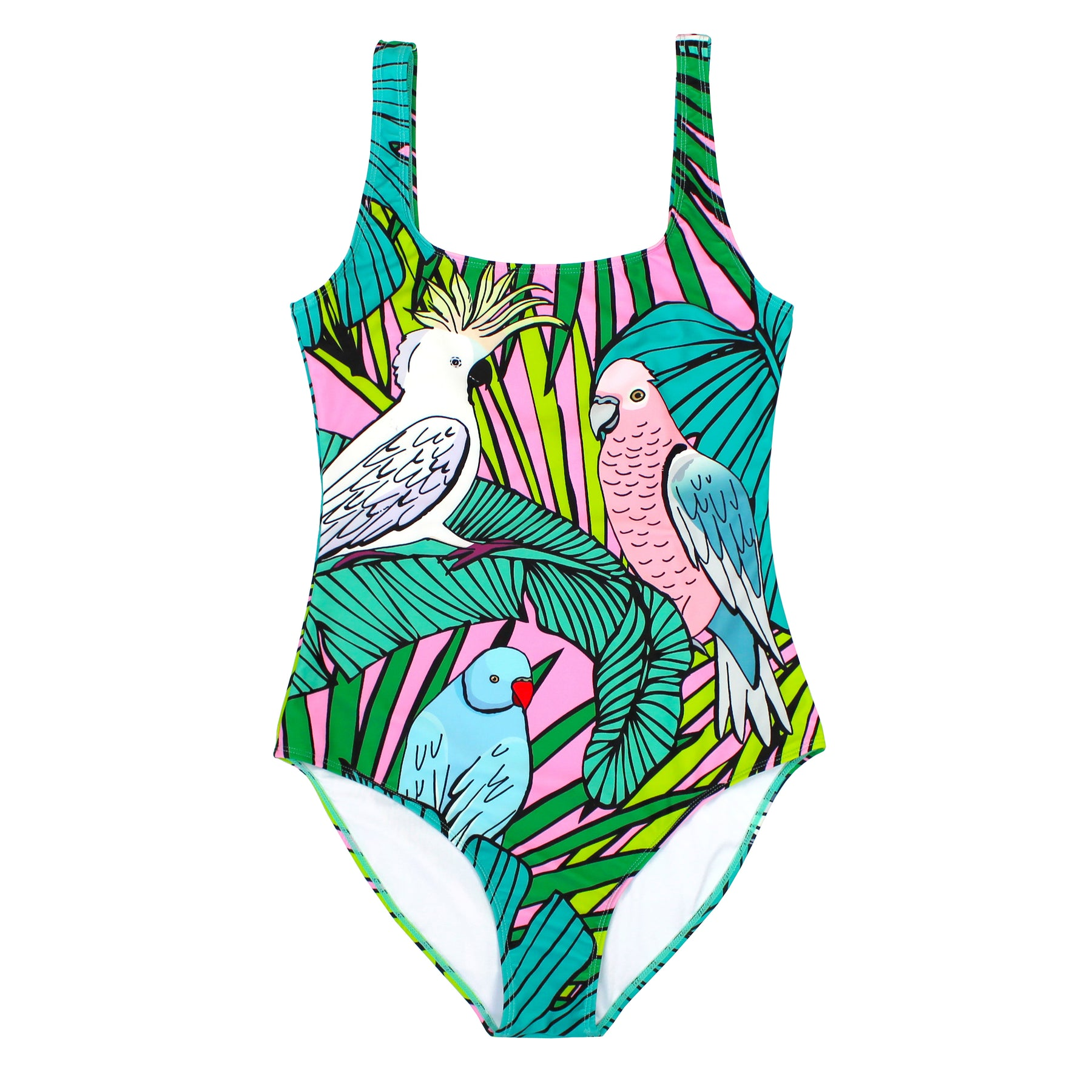 3e0d7e0a26 BATOKO Cockatoo Swimsuit