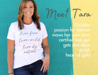 Utah boutique small business owner Tara Sumsion