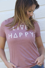 Load image into Gallery viewer, Live Happy Tee