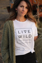 Load image into Gallery viewer, Live Wild Tee - Live By Nature Boutique