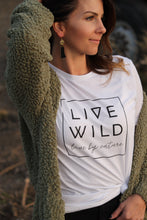 Load image into Gallery viewer, Live Wild Tee