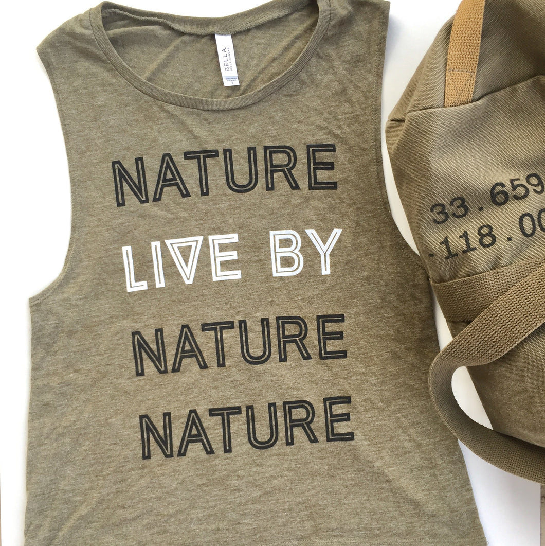 Military Tank - Live By Nature Boutique