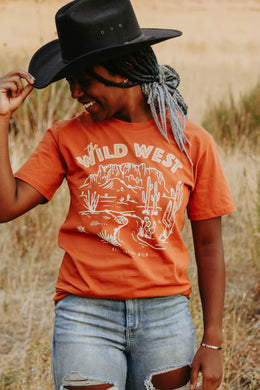 Wild West Tee - Live By Nature Boutique