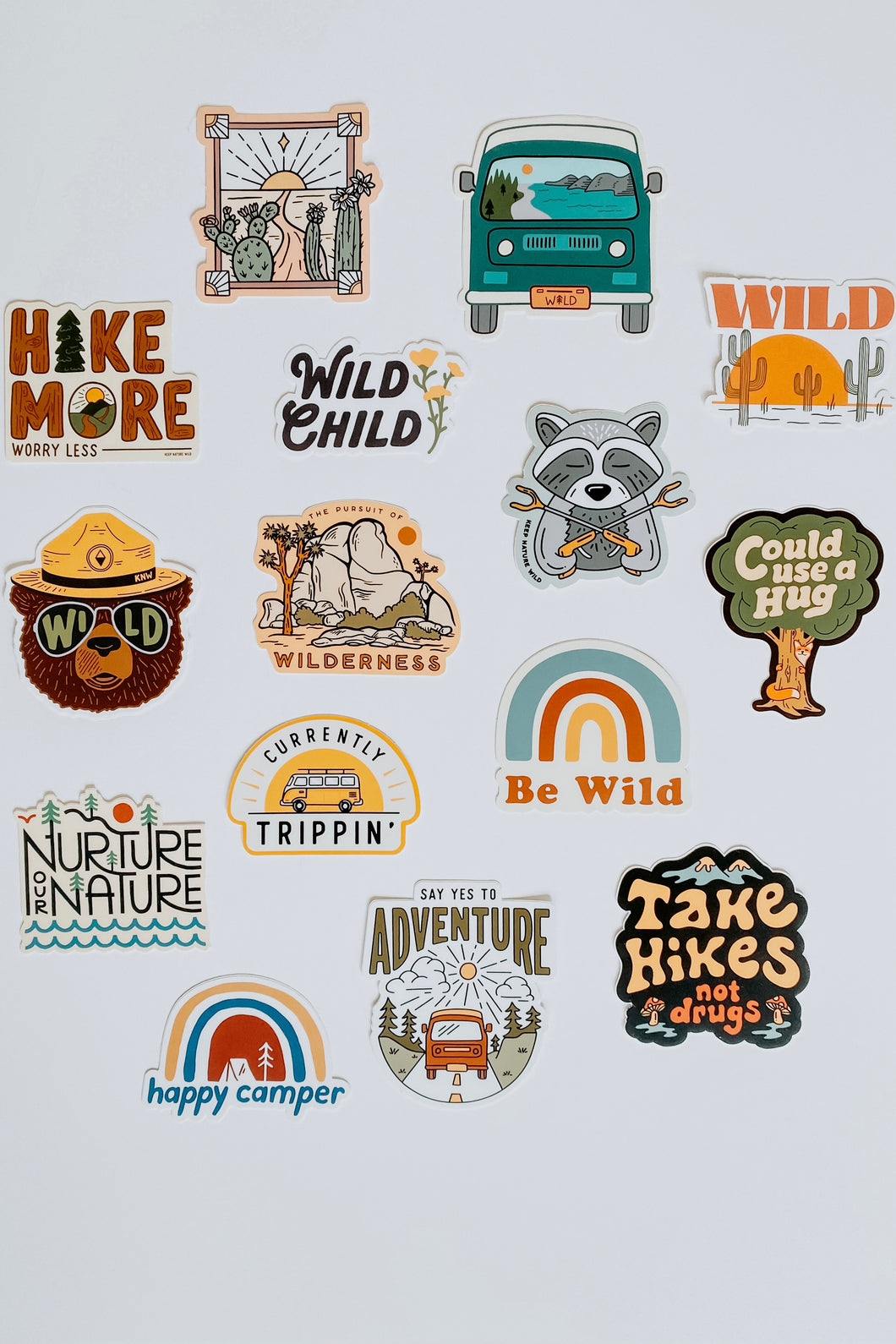 Nature Stickers - Live By Nature Boutique