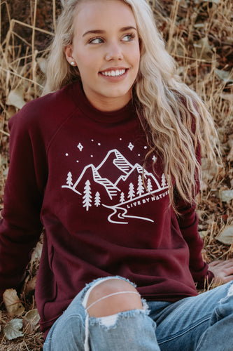 Mountain Crew Sweatshirt - Live By Nature