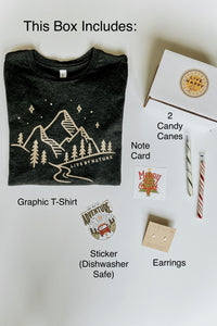 Mountain Tee Gift Box - Live By Nature