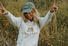 Load image into Gallery viewer, Live Happy Hoodie - Live By Nature