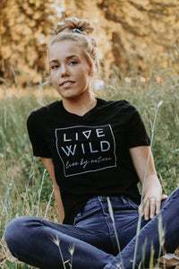 Live Wild Tee - Live By Nature Boutique