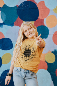 Kids Sunflower Tee - Live By Nature Boutique