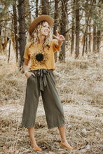 Load image into Gallery viewer, Sage Gaucho Pant - Live By Nature Boutique
