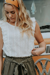 Fay Eyelet Top - Live By Nature Boutique