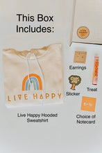 Load image into Gallery viewer, Live Happy Sweatshirt Gift Box - Live By Nature