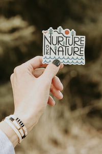 Nature Stickers - Live By Nature