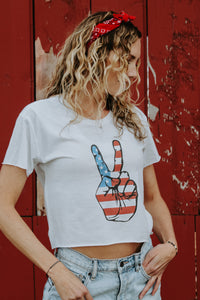 Peace Tee - Live By Nature Boutique