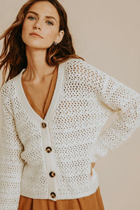 Shalon Button Cardigan - Live By Nature