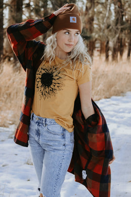 Sunflower Tee - Live By Nature Boutique