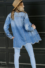 Load image into Gallery viewer, Long Denim Jacket - Live By Nature