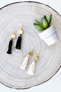 Tassel Earrings - Live By Nature Boutique