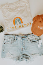 Load image into Gallery viewer, Live Happy Tee - Live By Nature