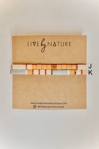 Tila Bead Bracelet - Live By Nature