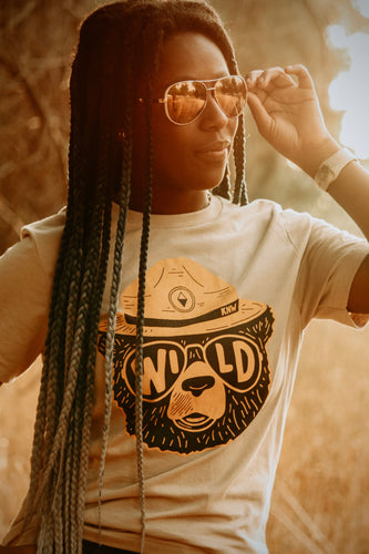 Wild Bear Tee - Live By Nature Boutique