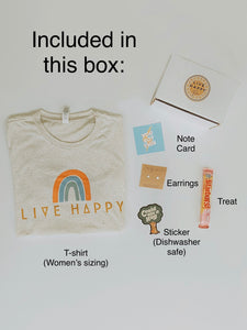 Live Happy Box - Live By Nature
