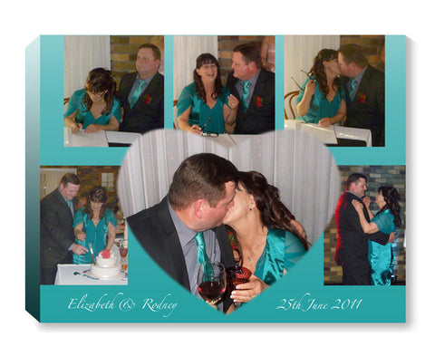 PhotoMajic photo canvas wedding multiple photos