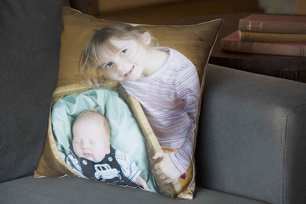 PhotoMajic photo cushion family