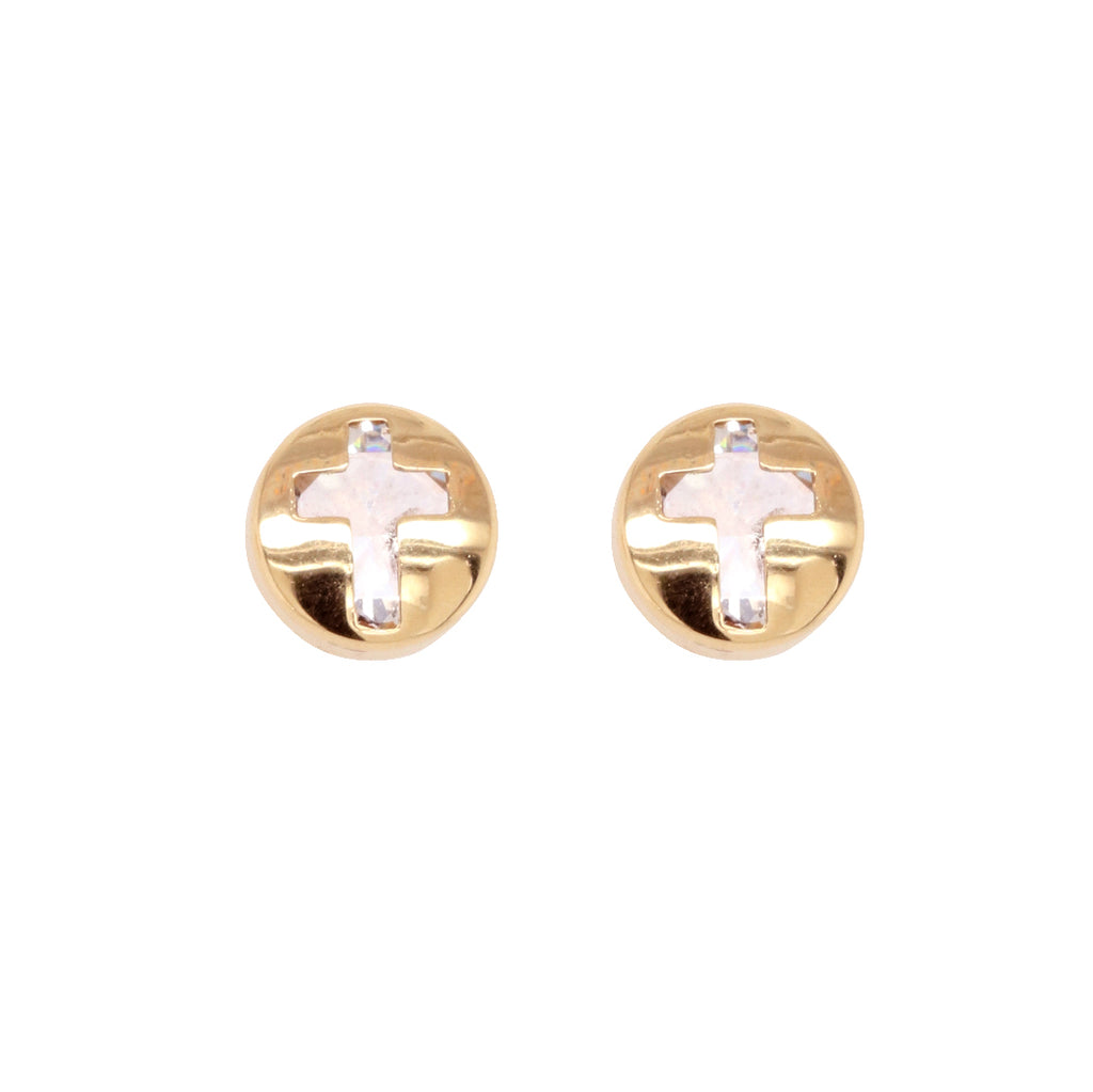 W&D 9CT YG EARRINGS