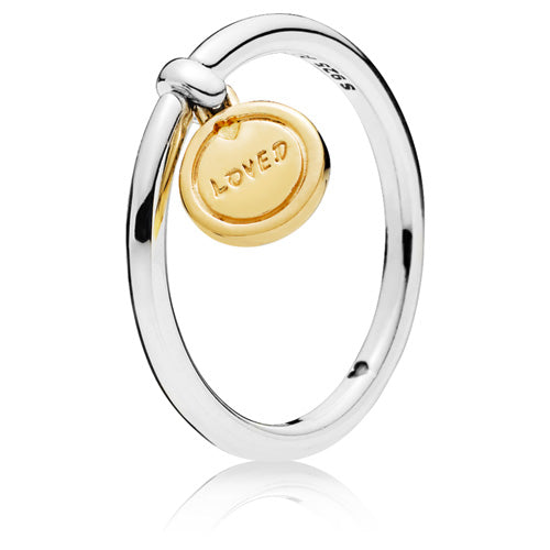 Pandora Shine Medallion of Love ring