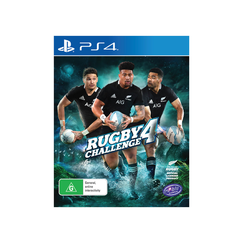 Sony PS4 Rugby Challenge 4