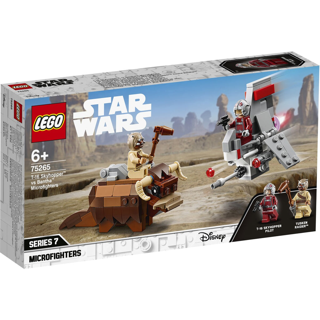 Lego Star Wars: A New Hope T-16 Skyhopper vs Bantha Microfighters