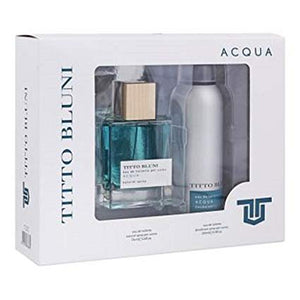 Nike Titto Bluni Acqua EDT 75ml + Deo 200ml