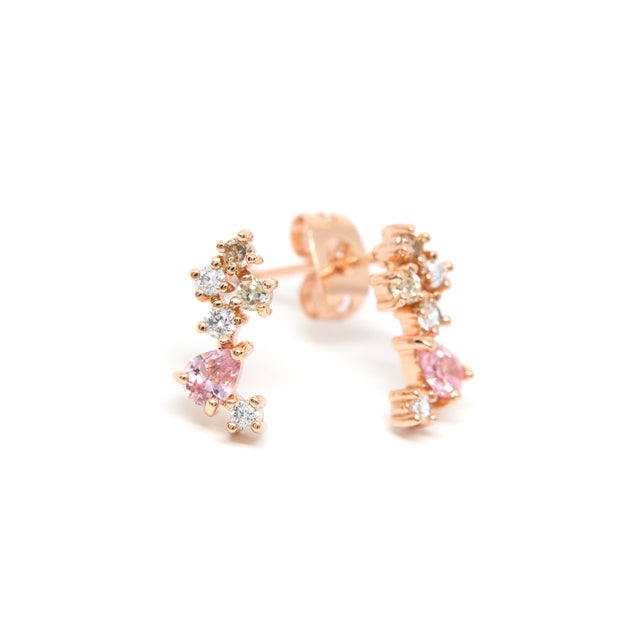 Toscow Dolce Vita Earrings RGP CZ
