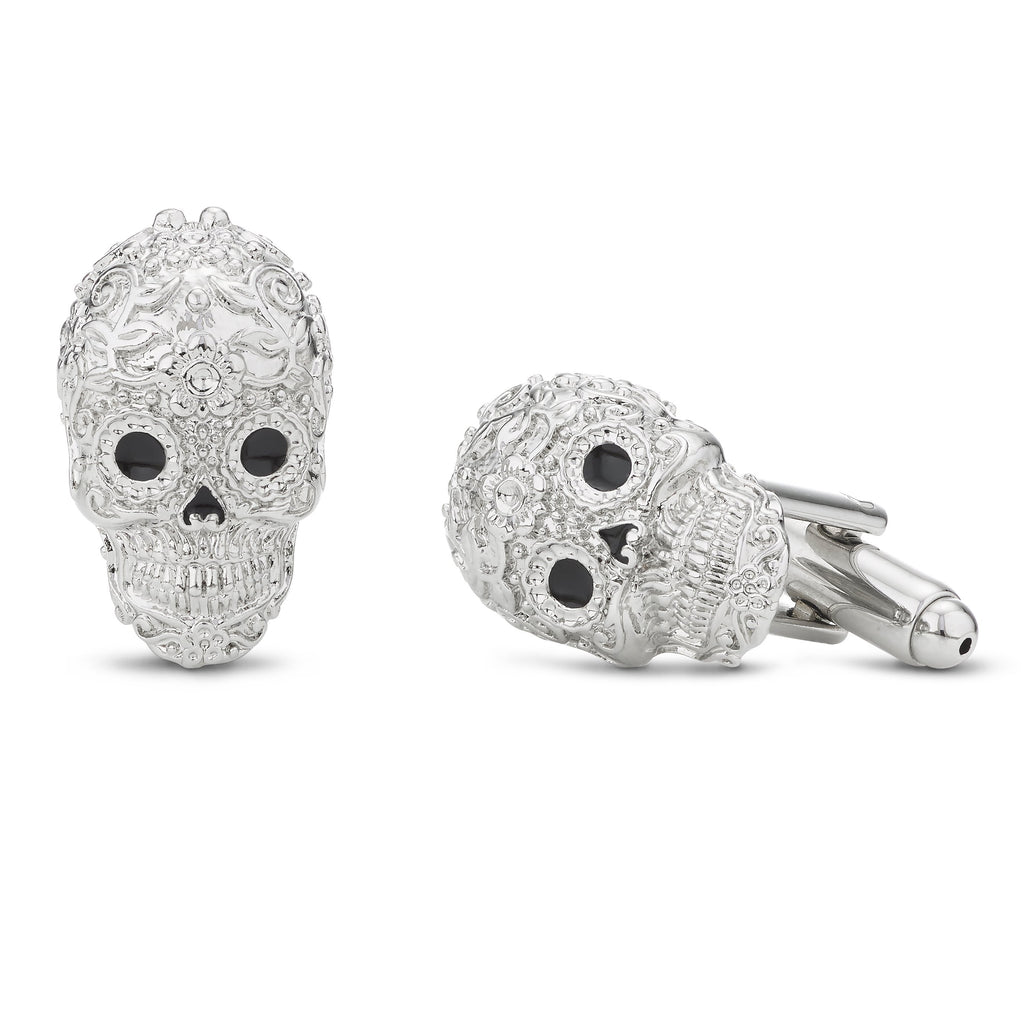 Buckley London Calavera Skull Cufflinks