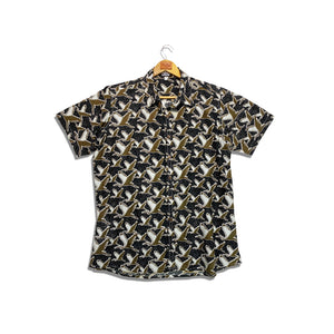 RK Men's Shirt Heron Print
