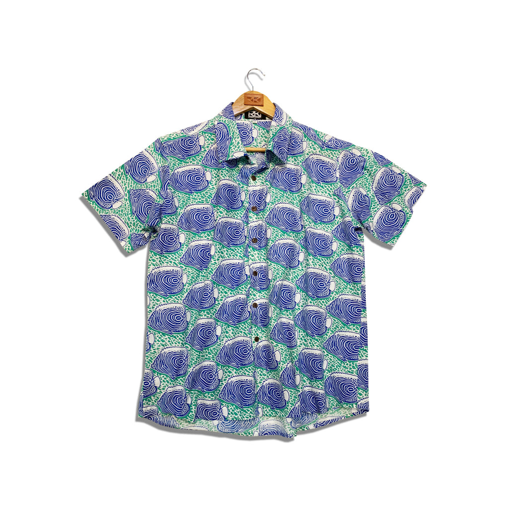RK Mens Shirt Fish